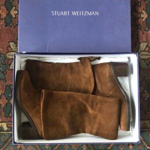 Stuart Weitzman elevated boot